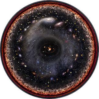 Space Art: The Observable Universe