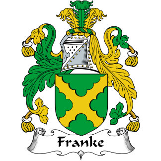 Franke Family Crest / Coat of Arms