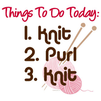 Knitters To Do List