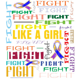 Bladder Cancer Fight Like a Girl Collage