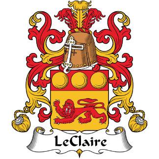 LeClaire Family Crest