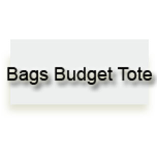 Bags Budget Tote