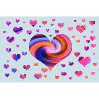 Colorful Heart Design