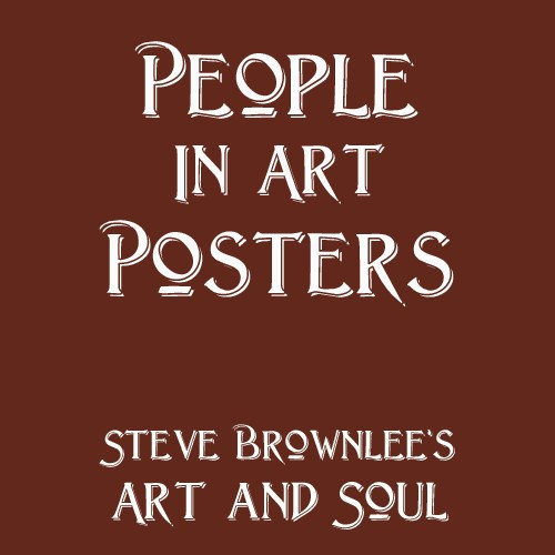 People in Art Posters