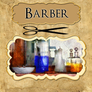 - Job - Barber - Ornaments