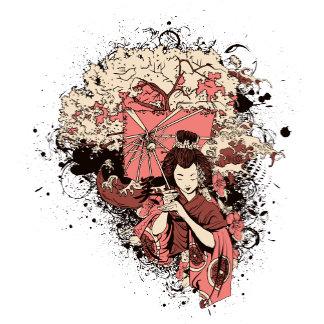 Chinese Japanese Geisha Courtesan Maiden