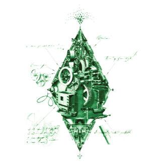 Behind the Diamond Green