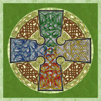 Celtic Cross-Medallion
