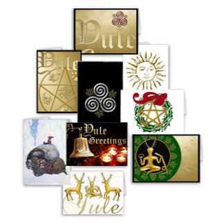 Yule Cards & Address Lables