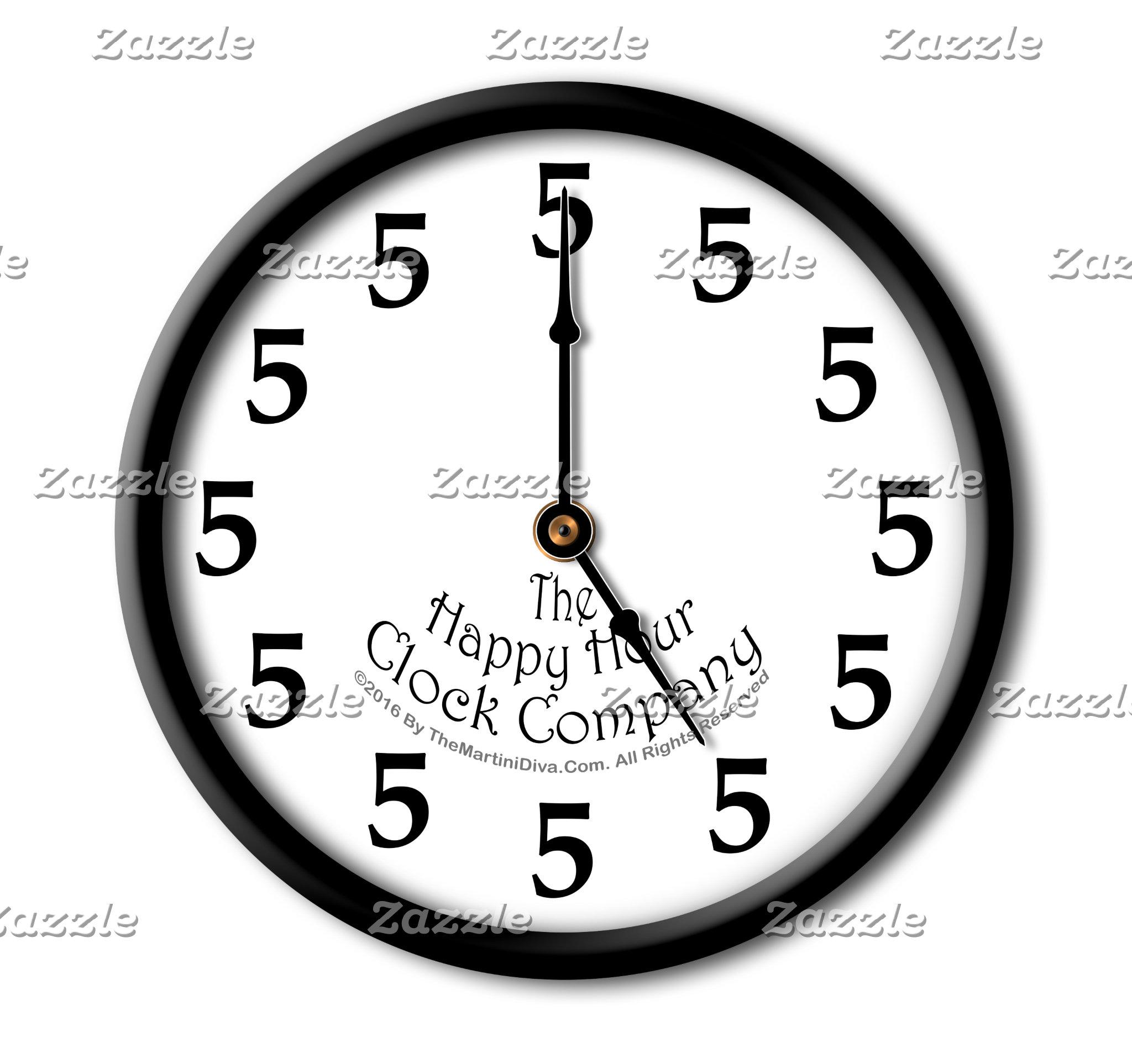 b. 5 O'CLOCK IS HAPPY HOUR