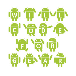 Will Code For Gear (Bugdroid Software Developer)