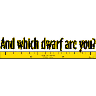 And which DWARF are you?