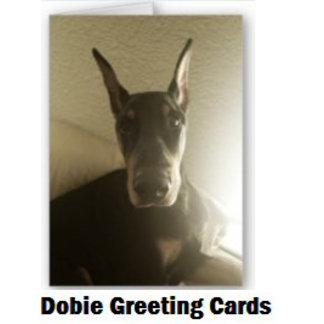Dobie Greeting Cards