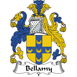 Bellamy Family Crest / Coat of Arms