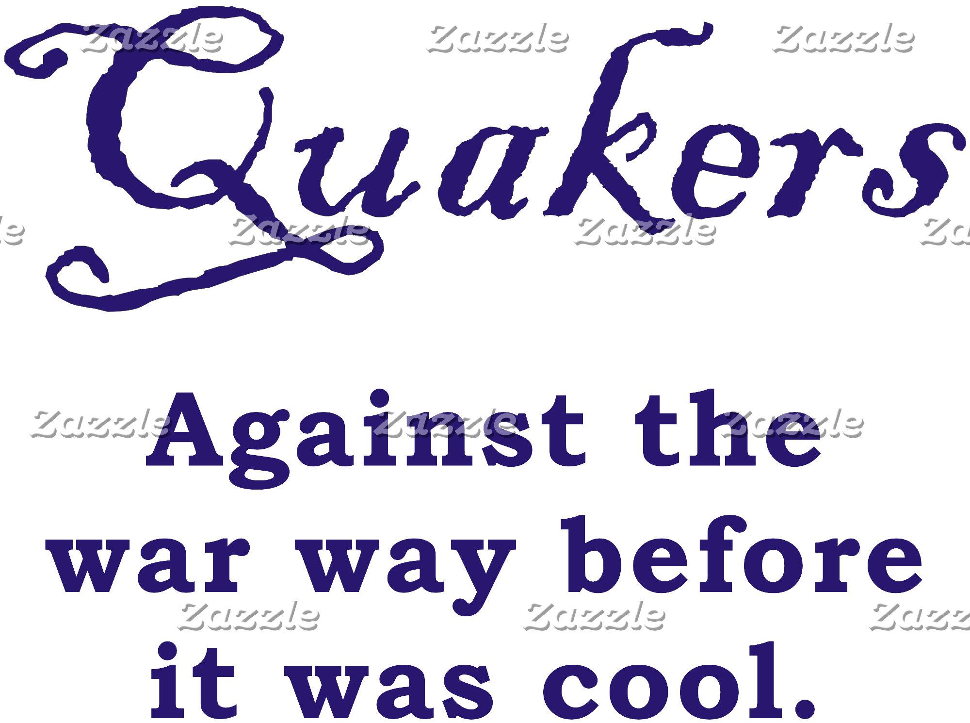 Quakers - War