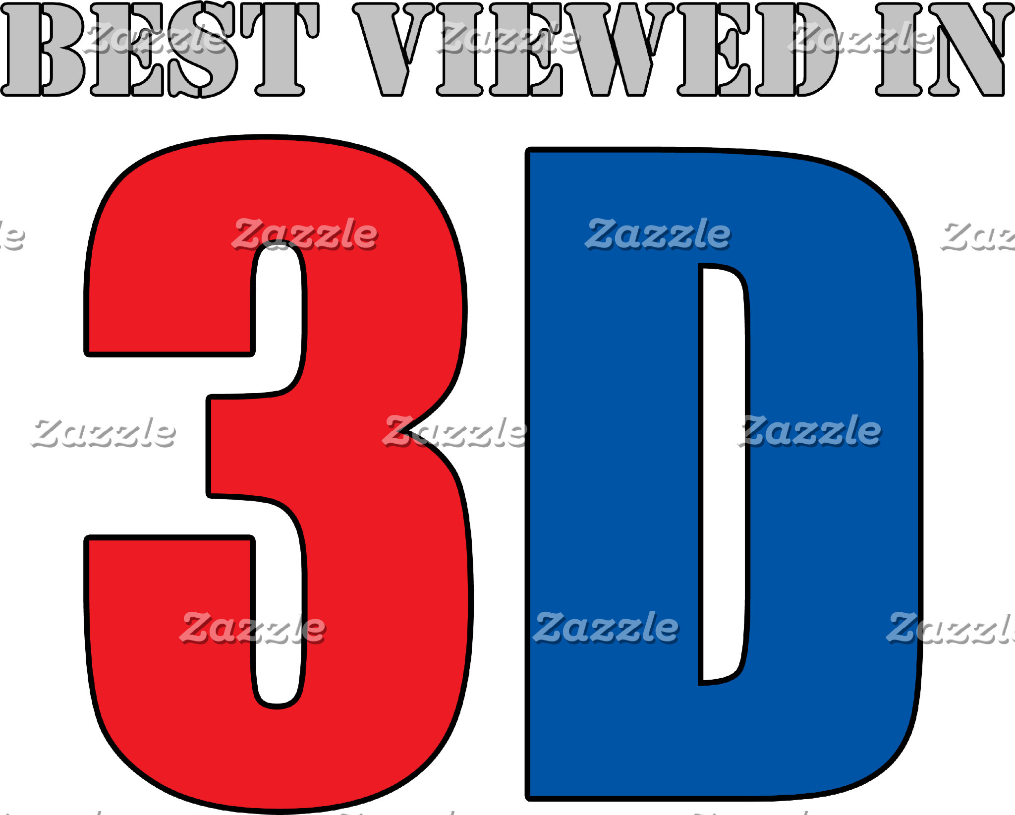 Best Viewed In 3d