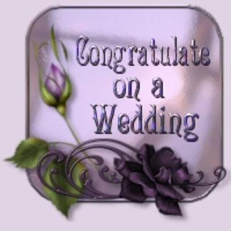 Congratulate on a Wedding
