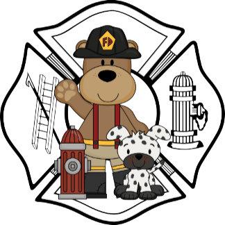 Firefighter Fire Dept Bear