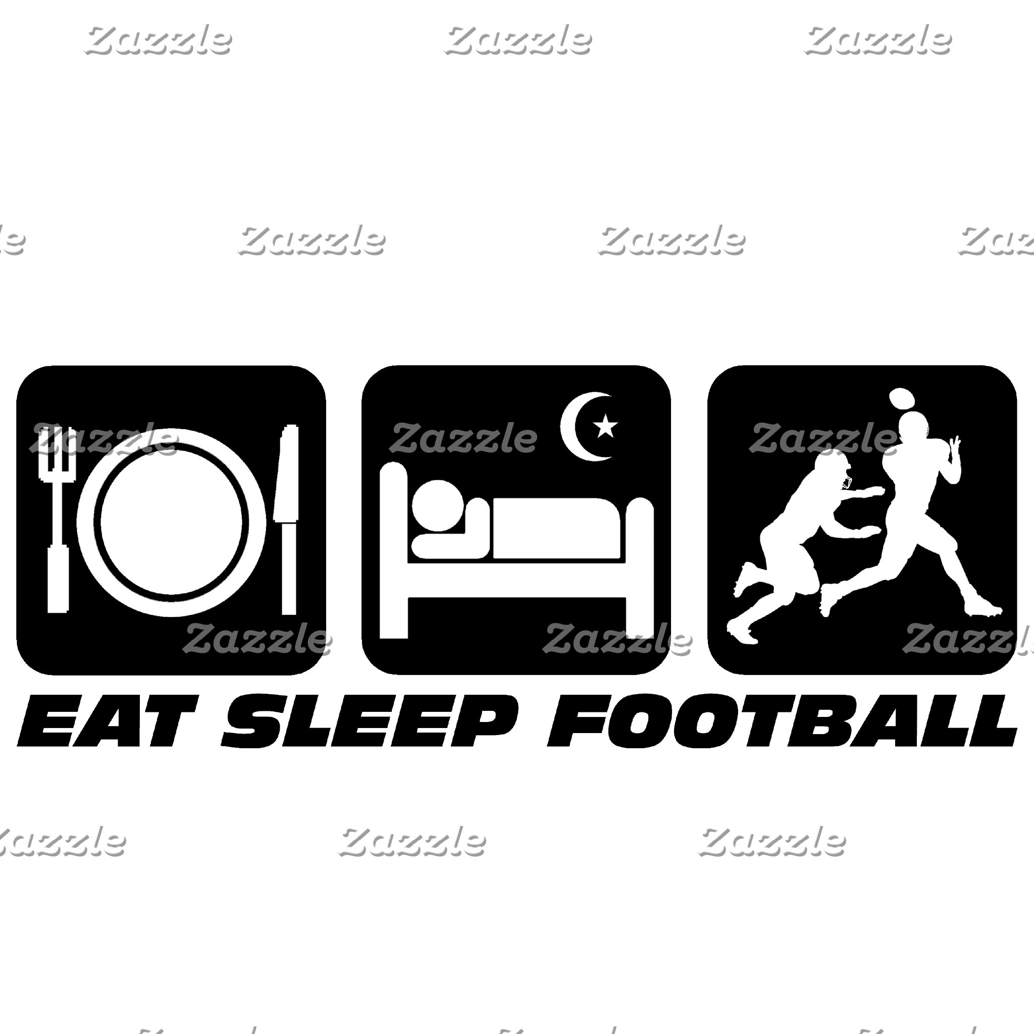 Eat sleep football