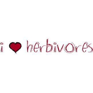 I Love Herbivores