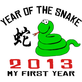 Born In The Year of The Snake 2013 T-Shirt Gifts