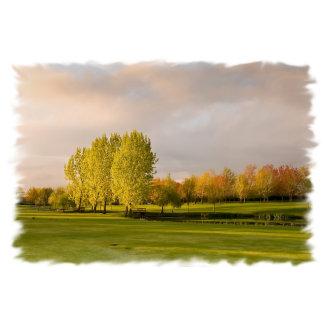 Golf Course in Autum