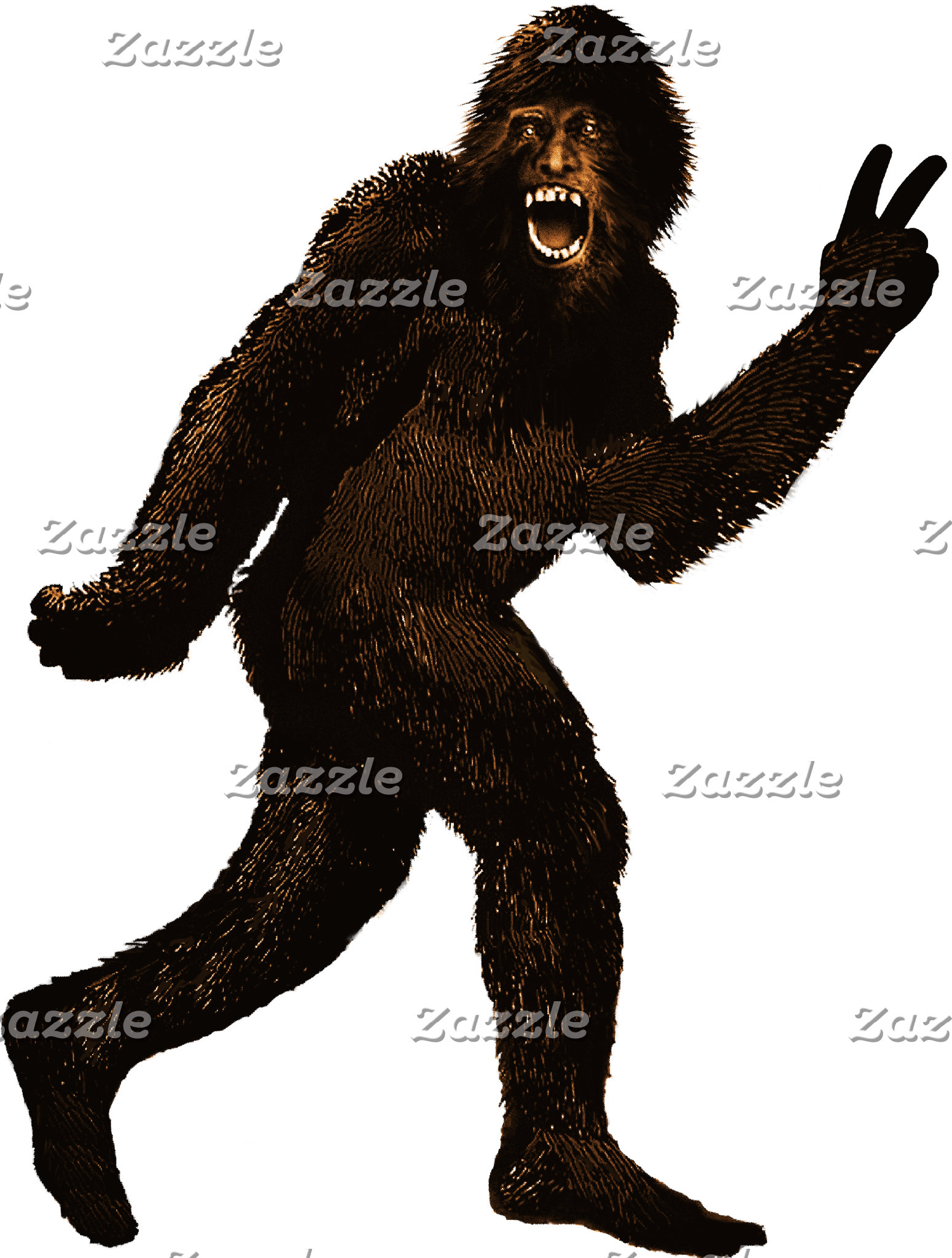 Bigfoot Sasquatch Yeti Squatchin' T-shirts & Gifts