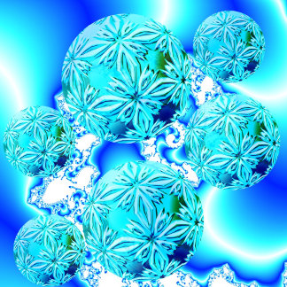 Blue Ice Crystals