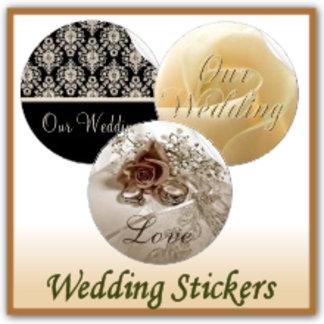Wedding Stickers / Address Labels