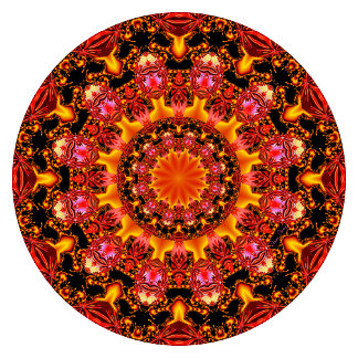 Glittering Gold Mandala