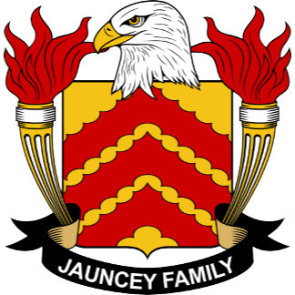 Jauncey Coat of Arms