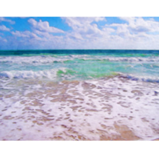 Atlantic Ocean On Florida Beach