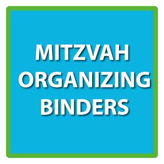 Mitzvah Organizing Binders