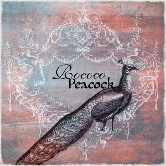 Rococo Peacock Gifts & Stationery