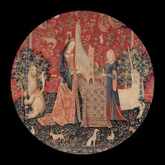 Lady and Unicorn Harp
