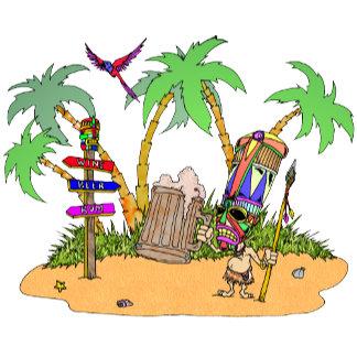 Tiki Alcohol island