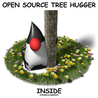 Open Source Tree Hugger Inside