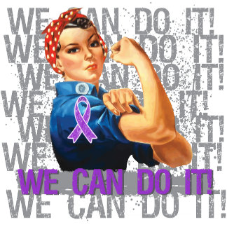 Epilepsy Rosie The Riveter WE CAN DO IT