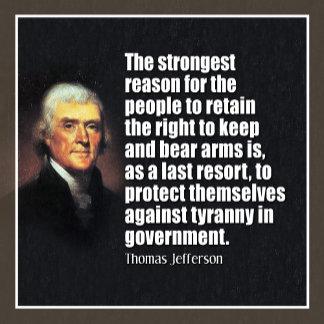 JEFFERSON: keep and bear arms...