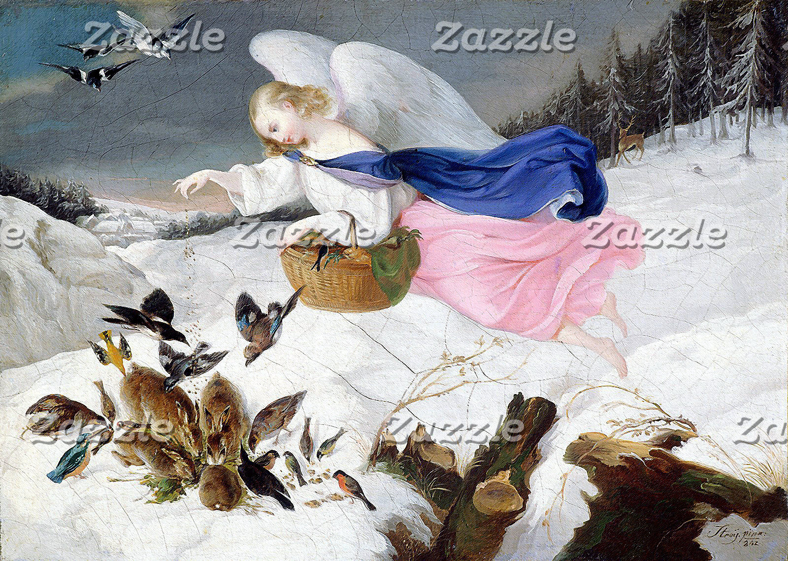 Bible History and Angels Paintings