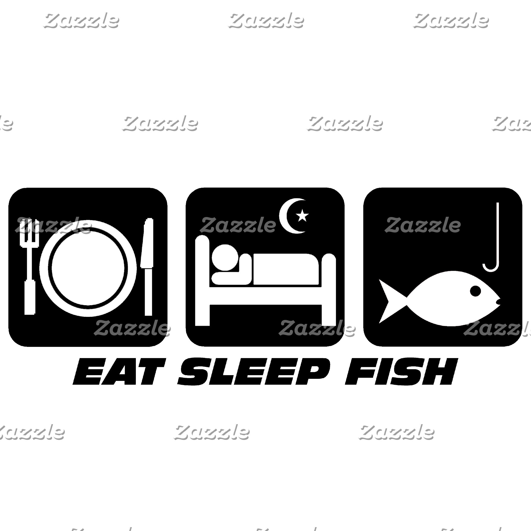 Eat sleep fishing