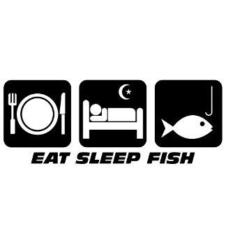 Eat sleep fishing