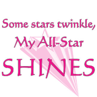 All-Star Shines Proud cheer mom t-shirts and gifts