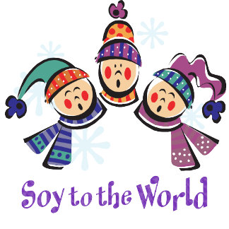 Soy to the World T-shirts, Holiday Gifts
