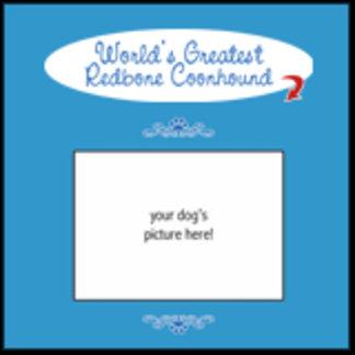 Personalized World's Greatest Redbone Coonhound