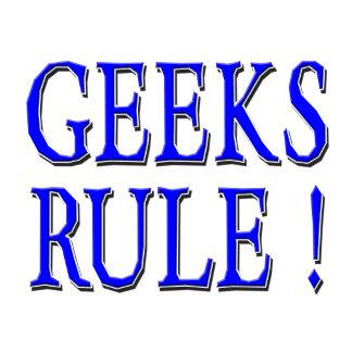Geeks Rule !  Blue