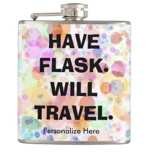 ab. Funny Cocktail Flasks