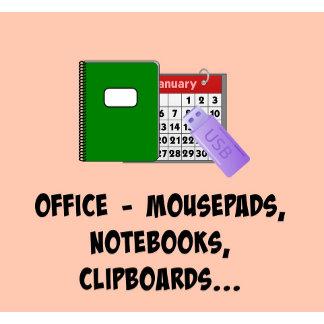 OFFICE: Calendars, mousepads, USB flash drive