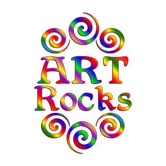 Colorful Art Rocks