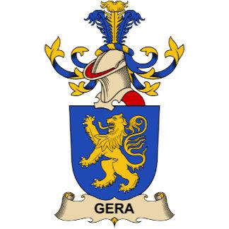 Gera Family Crest